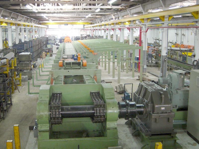 Empresa de produção de tubos de aço