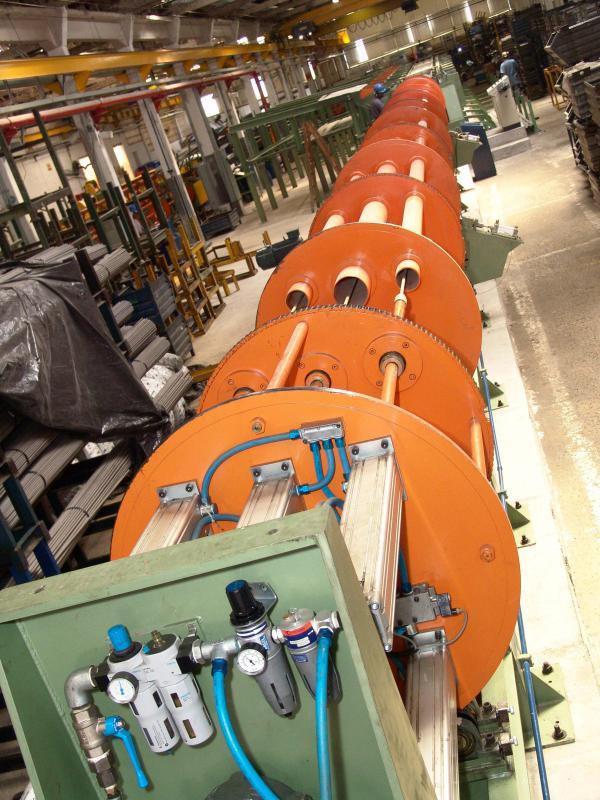 Fábrica de tubos hidráulicos