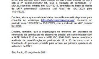 Download Certificado ISO/TS